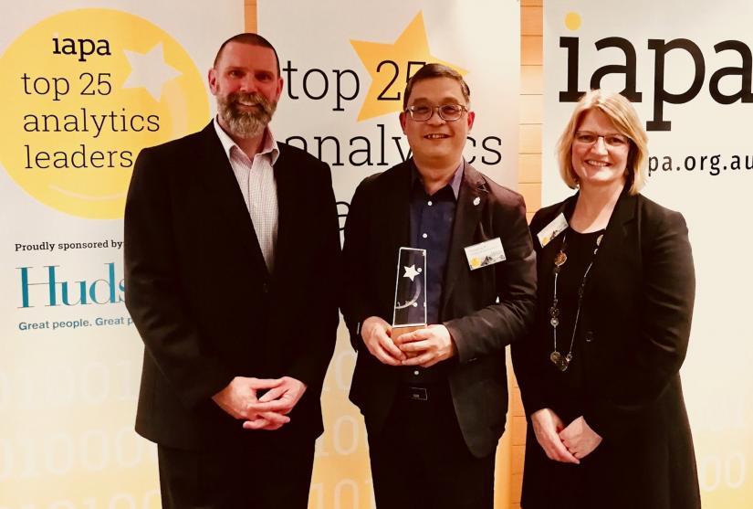 UTS Academic is in Top 10 of Australia's  analytics leaders