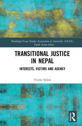 Transitional justice in Nepal book cover