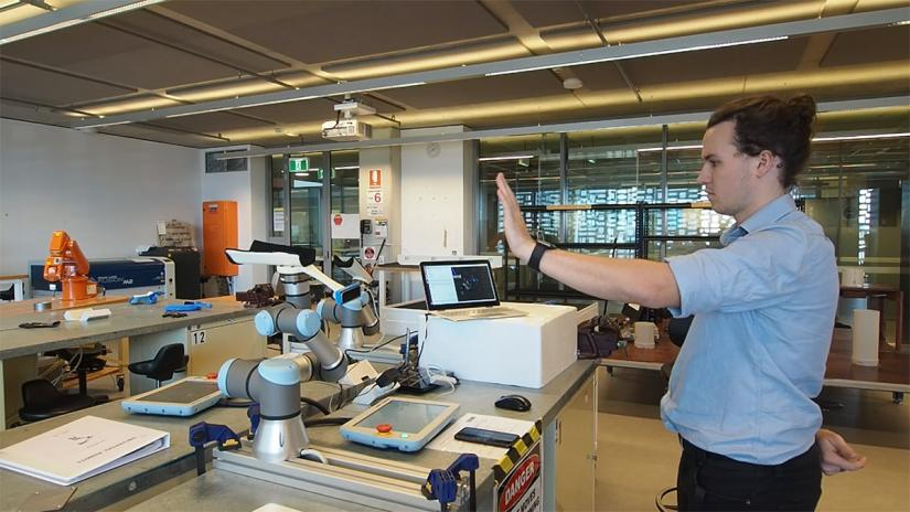 Photo: Tech Gym's Universal Care prototype
