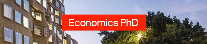 Banner for Economics PHD