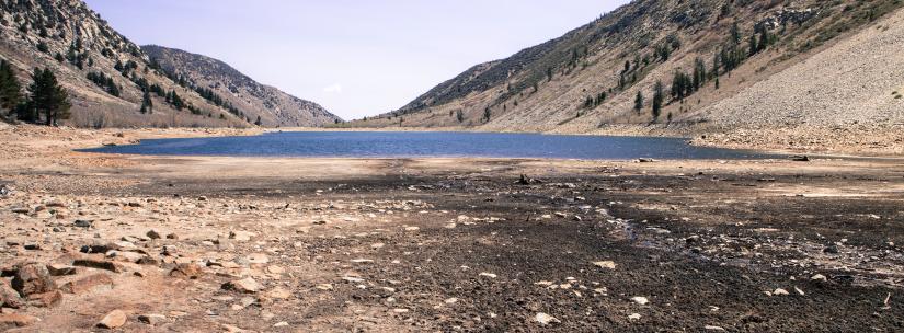Lake Drying Up