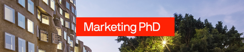 Banner for Marketing PHD
