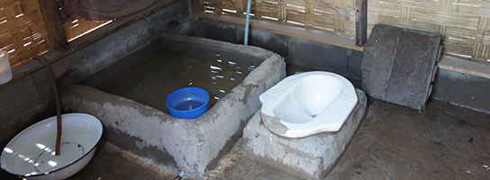 Rural sanitation in Laos