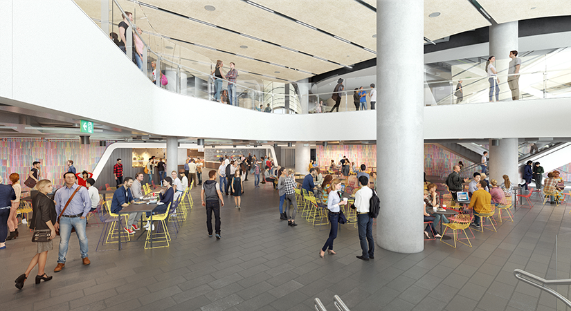 UTS Central food court view 2
