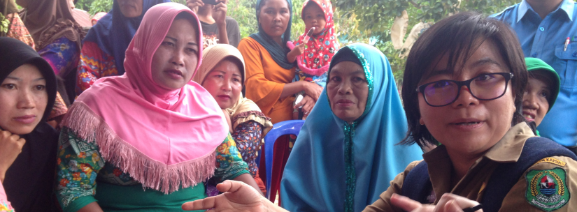 Water Utility Staff and Community, Kalimantan, Indonesia