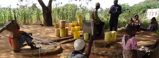 rural water entrepeneurs in Kenya