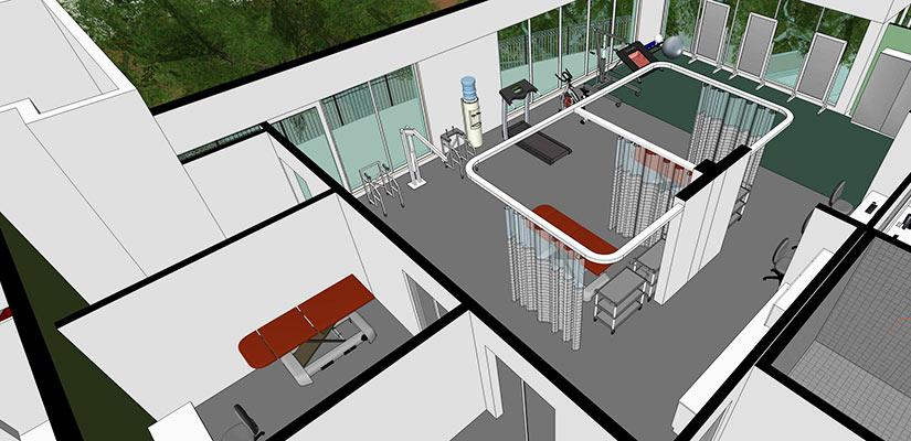 Artist's impression ofnew facilities for the Centre for Neuroscience and Regenerative Medicine