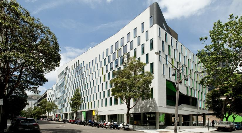 The UTS Vicki Sara Building from Jones St