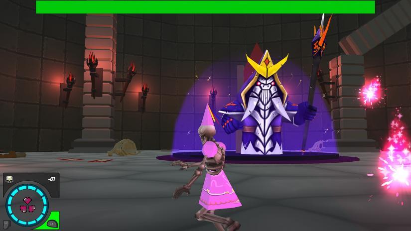Reaper Co boss battle, UTS Games Studio