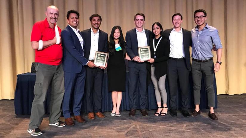Winning UTS BAP students in Washington DC