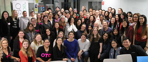 Student founders at Sydney Women Startup Weekend