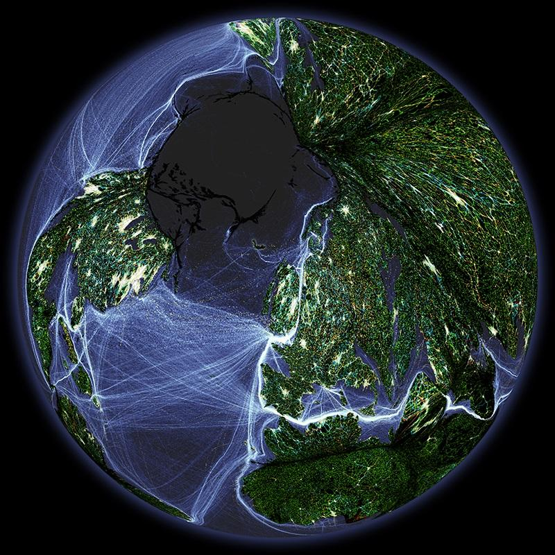 Anthropocene Global Map