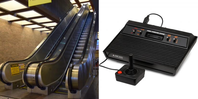 UTS escalators and the Atari game console