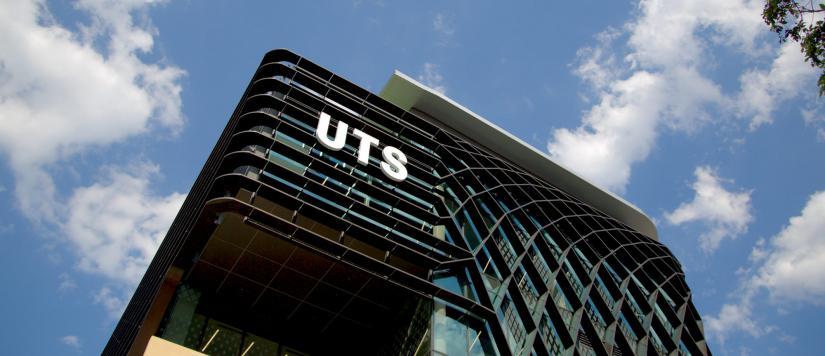 Facade of UTS Moore Park building