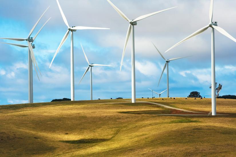 Wind farm, NSW