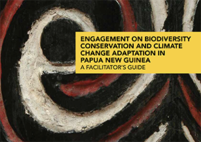 PNG biodiversity conservation and climate change handbook cover