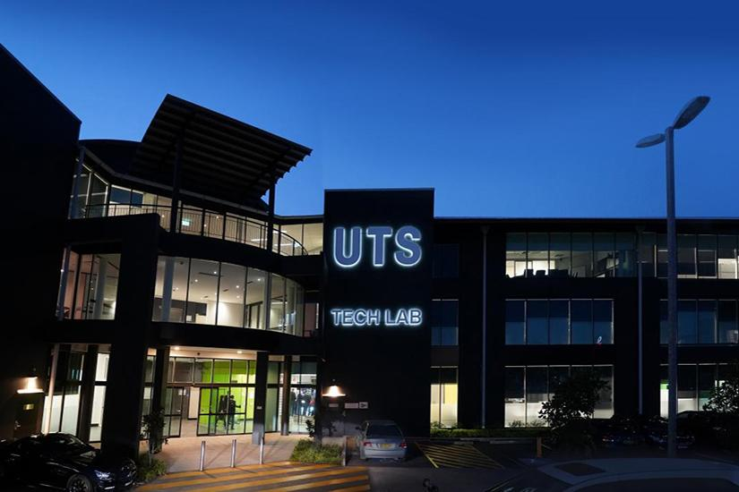 External photo of UTS Tech Lab. Photo by Andy Baker.