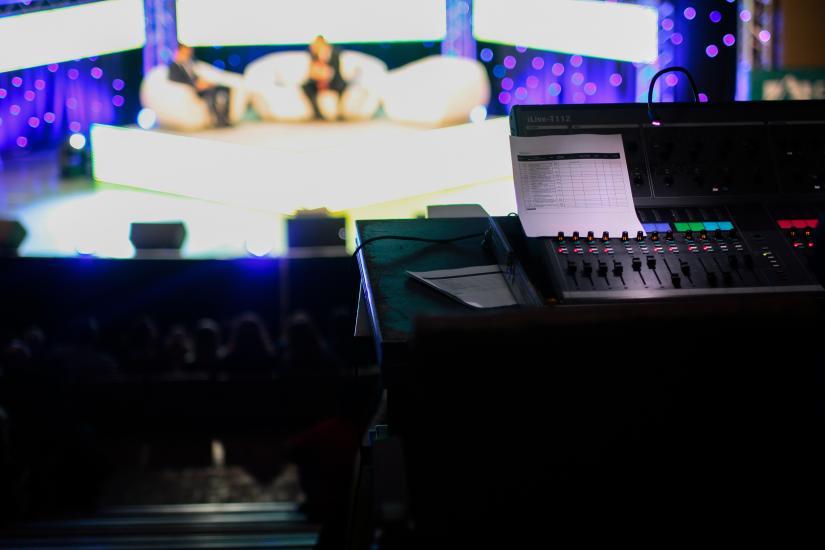 public broadcast studio