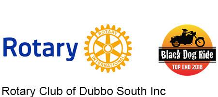 Rotary and Black Dog Ride Logos