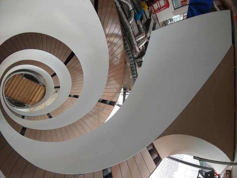 UTS Central double helix stair