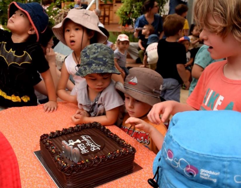 Blackfriars Children's Centre first birthday