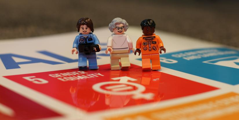 lego women on gender equality sustainable development goal