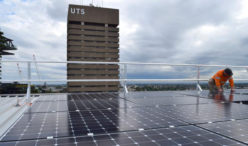 UTS roof top solar
