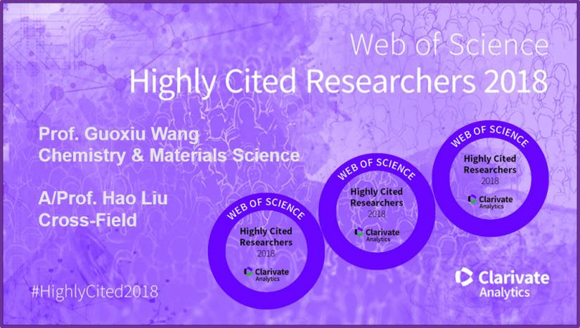 Web of Science Highly Cited Researchers 2018