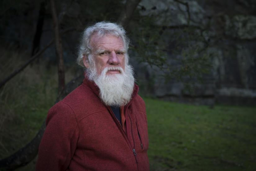 Portrait of writer Bruce Pascoe