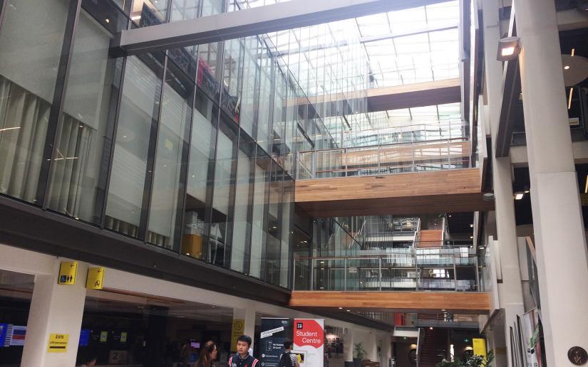 Building 10 atrium