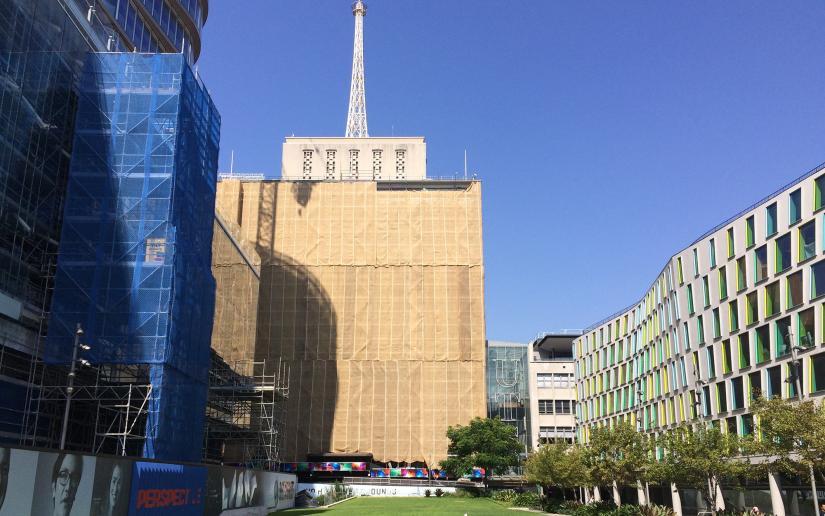 Building 10 facade