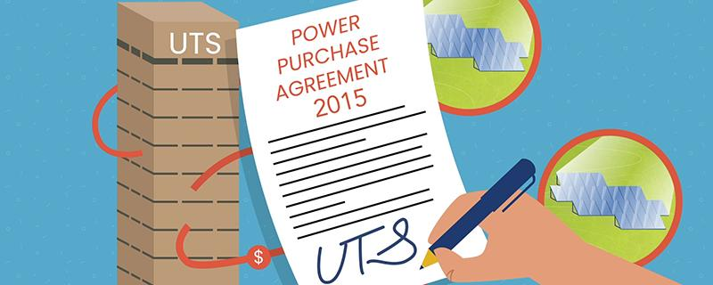 UTS signs solar agreement