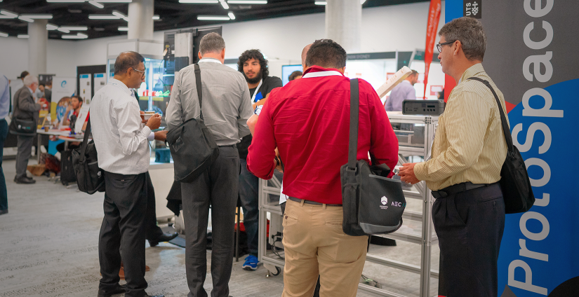 ProtoSpace showcasing at the 2018 Engineers Australia Conference