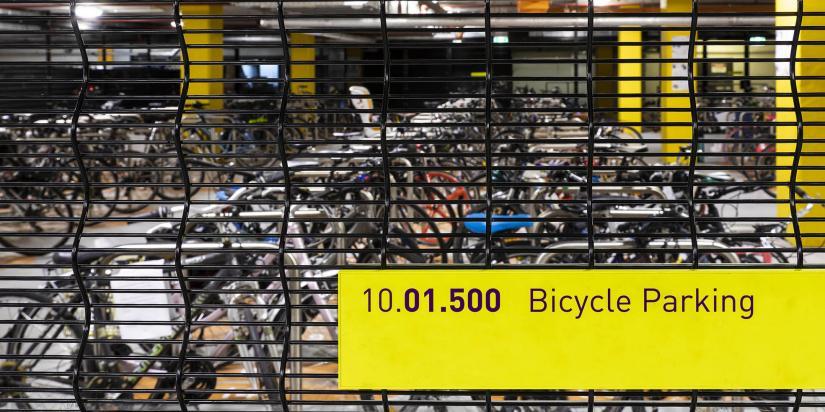 Secure bike parking at UTS