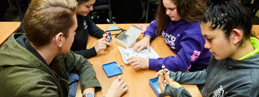 Students attending UTS STEM Day workshop