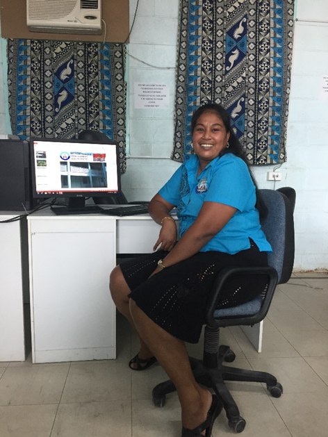 A nurse contributing to the AusAsia Aid Conference