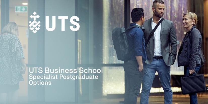 UTS Business School Specialist Postgraduate Options