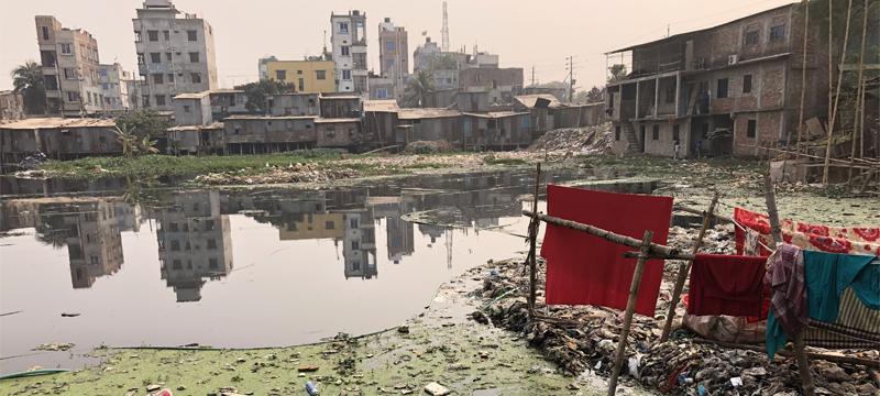 Urban sanitation in Bangladesh