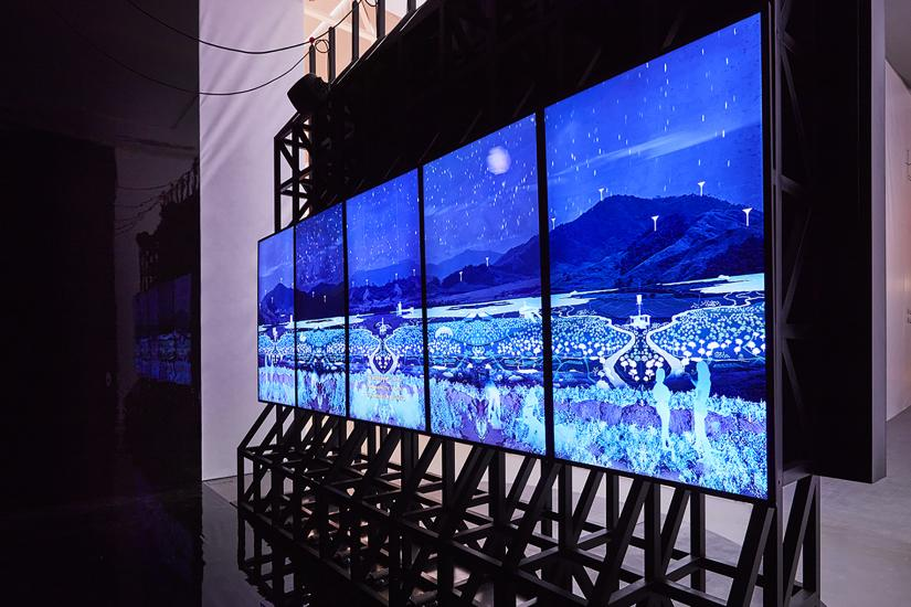video screen installation
