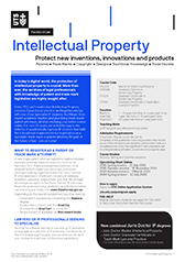 International Property Law course guide