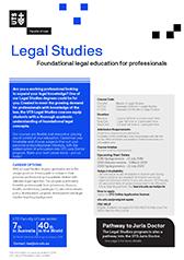 Legal Studies course guide