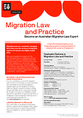 Migration Law and Practice course guide