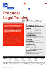 Practical Legal Training