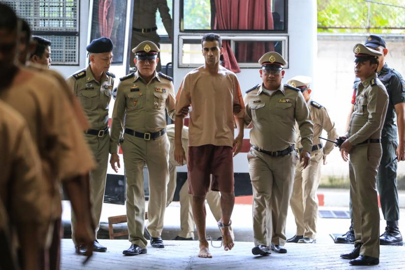Hakeem led by Thai police