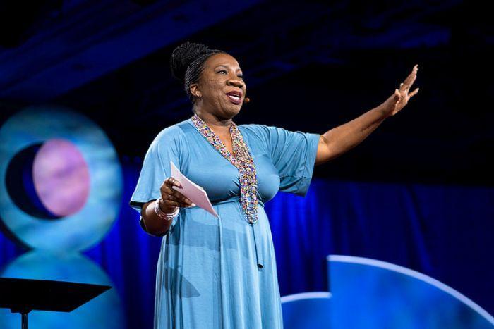 African American Activist and #MeToo founder Tarana Burke.