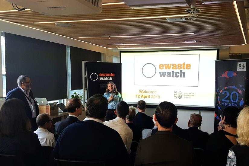 Ewaste launch Director and Co-founder Rose Read