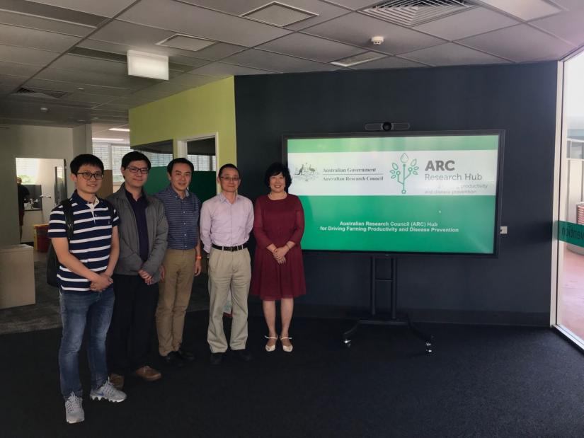 Visiting Griffith University's ARC Research Hub