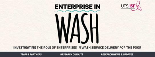 Enterprise in WASH website