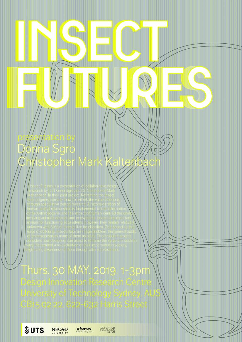 Poster for Insect Futures events