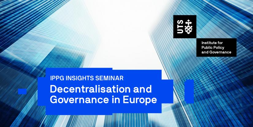 Decentralisation and Governance in Europe